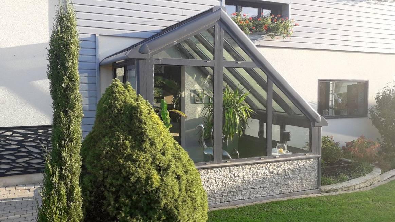 Installer Une Veranda Comme Sas D Entree Pour Une Maison A Malaunay Proche Rouen 76 Sapalu