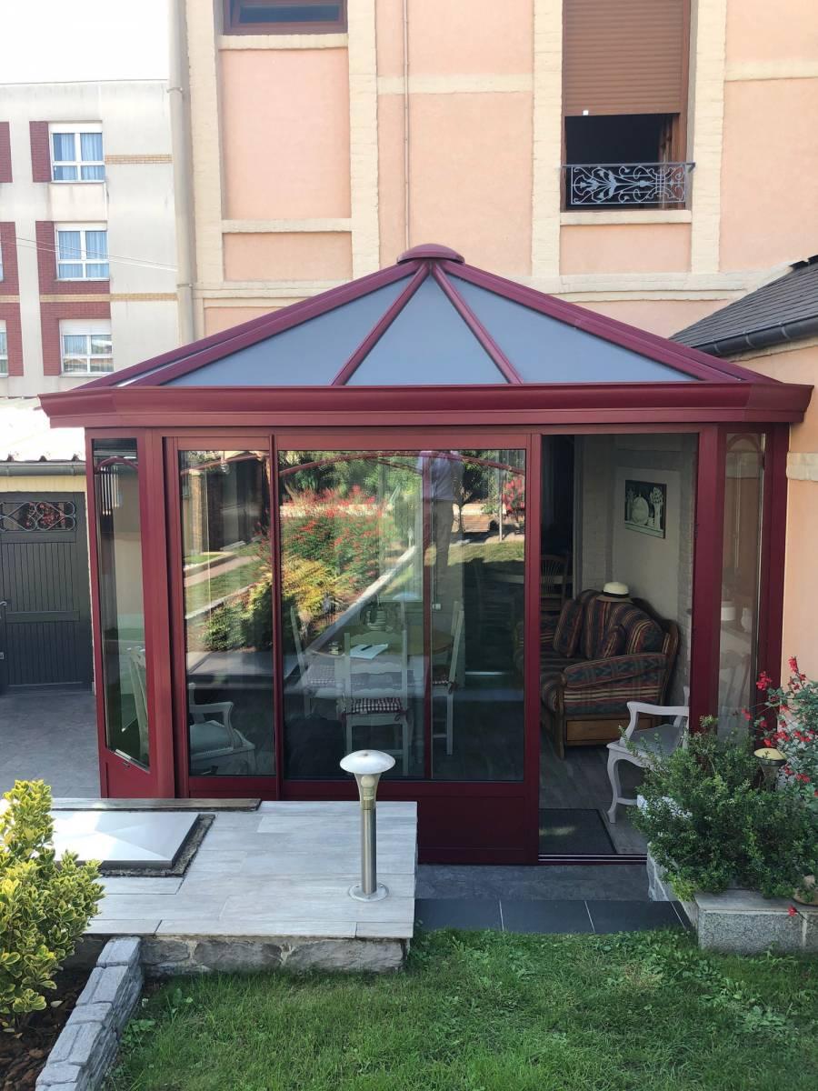 Entreprise pour un devis pour une véranda aluminium de 20 m2 à Barentin proche Yvetot - SAPALU